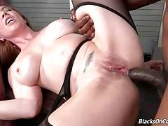 Kiki Daire Gets Double Penetrated By Black Guys 1