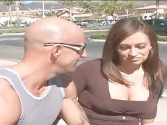 Pretty milf Claudia Valentine has recently divorced and now looks for some fun.