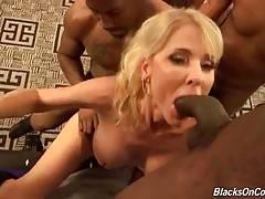 Cammille Austin Enjoys Massive Black Dicks 1