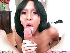 Slutty Milf Is Very Good At Cock Sucking 1