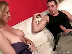 Milf Examines Step Daughter`s Boyfriend 2