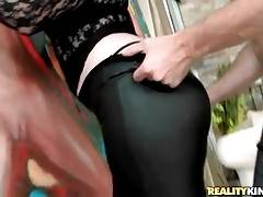 Levi Cash Is Caressing Awesome Booty Milf 1